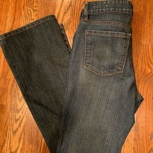Woman's LOFT Curvy  Boot Cut jeans size 6 EUC